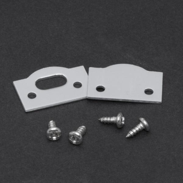 Element De Inchidere Pentru Profiluri Led Din Aluminiu 2 Buc 41014E