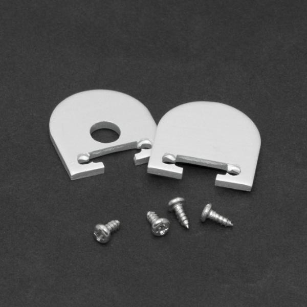 Element De Inchidere Pentru Profiluri Led Din Aluminiu 2 Buc 41020E