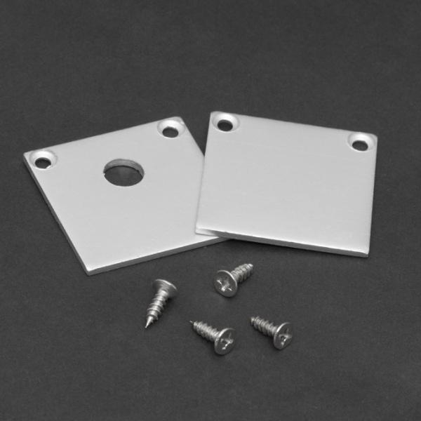 Element De Inchidere Pentru Profiluri Led Din Aluminiu 2 Buc 41022E