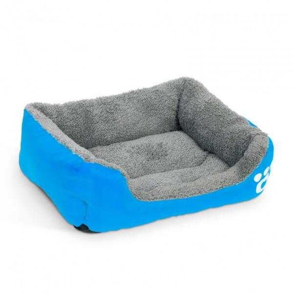 Yummie Culcuş Pentru Căţei 65 x 50 cm Albastru 60003BL