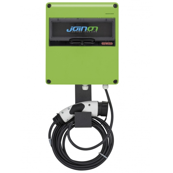 Statie Incarcare Vehicule Electrice Gewiss Joinon New Easy 4.6KW 1XT2 GW68124