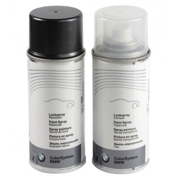 Set Spray Vopsea + Lac Oe Bmw Mineral Grey Metallic B39 51912360922