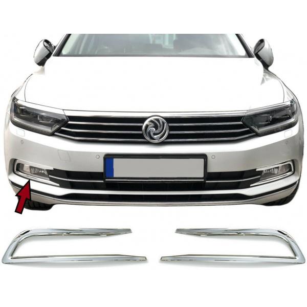 Ornamente Proiectoare Crom Metal Volkswagen Passat B8 2014→