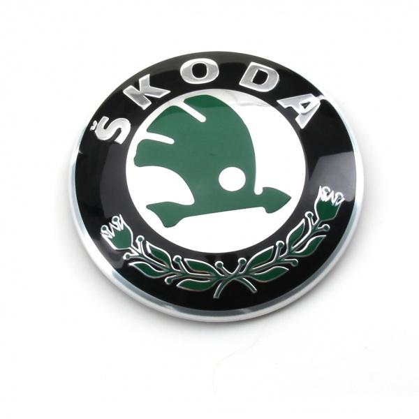 Emblema Fata Oe Skoda Fabia 2 2006-2014 3U0853621BMEL