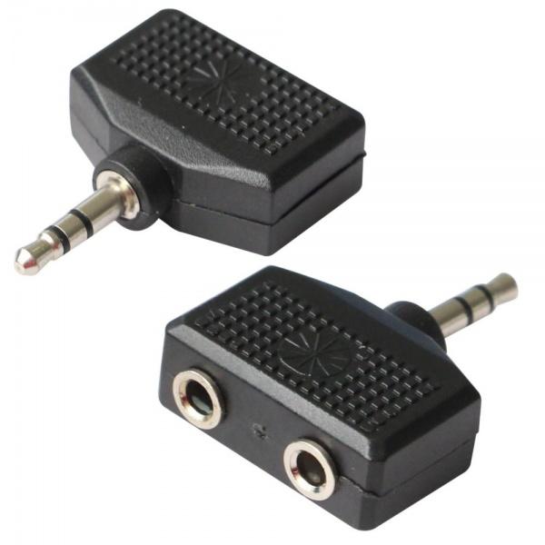 Poss Adaptor Spliter Jack 3.5 La 2 x Jack 3.4 PSAUD10