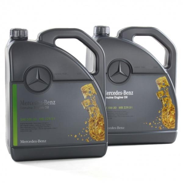 Pachet 10L Ulei motor Mercedes-Benz 229.51 5W-30