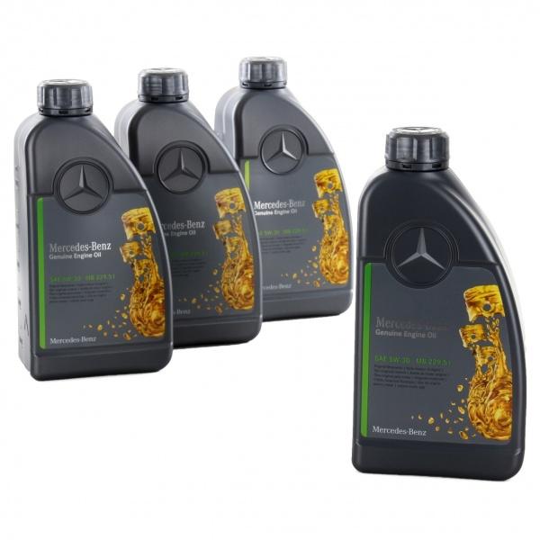 Pachet 4L Ulei motor Mercedes-Benz 229.51 5W-30
