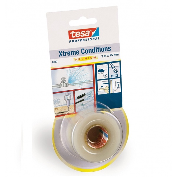Tesa Banda Autosudanta Silicon Transparent 3M/25MM 04600-00003-00