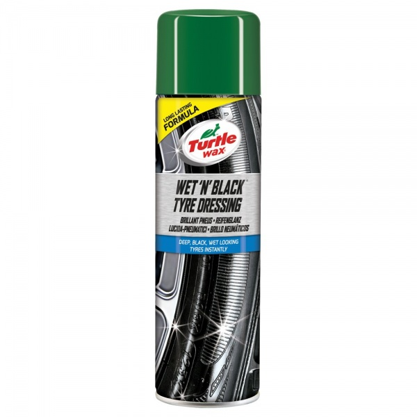Turtle Wax Spray Curatat Anvelope Wet'N'Black Tyre Dressing 500ML TW FG7640