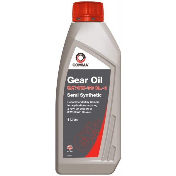 Ulei transmisie manuala Comma Gear Oil SX75-90 GL-4 1L