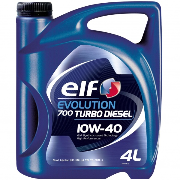 Ulei motor Elf Evolution 700 Turbo Diesel 10W-40 4L
