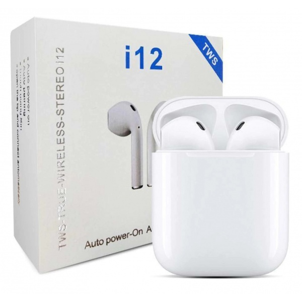 Casti Bluetooth I12 TWS