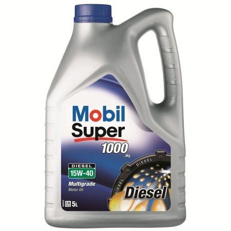 Ulei motor Mobil Super 1000 Diesel 15W-40 5L