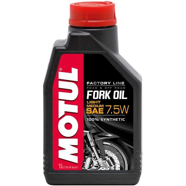 Ulei Furca Motul Fork Oil Factory Line 7.5W Light Medium 105926 1L