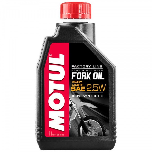 Ulei Furca Motul Fork Oil Factory Line 2.5W Very Light 105962 1L