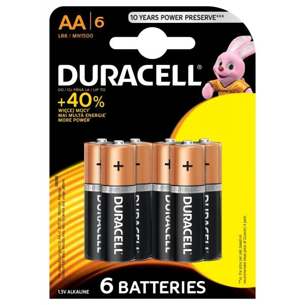 Baterii Duracell Basic R6 30500626