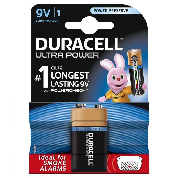 Baterie Ultra Power 6LR61 Duracell 30501555
