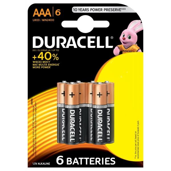Baterii Duracell Basic R3 30501765