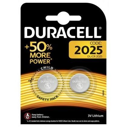 Set X 2 Baterii DL/CR 2025 Duracell 30501822