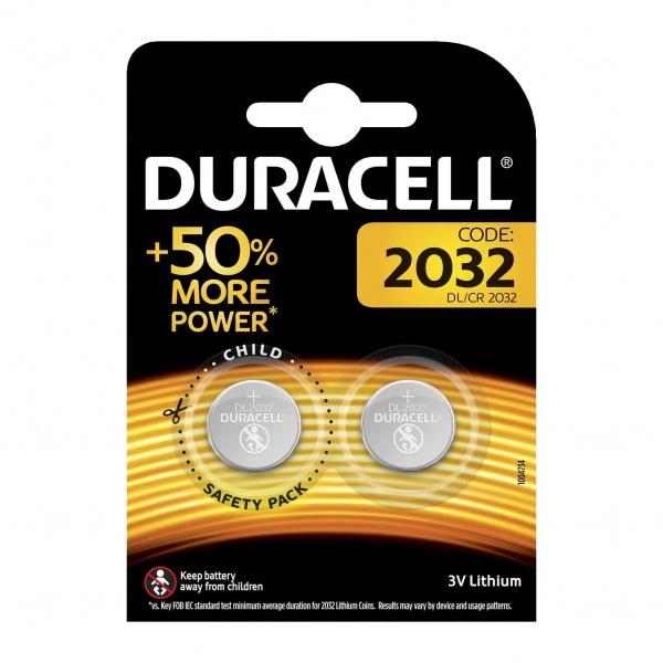Set X 2 Baterii DL/CR 2032 Duracell 30501823