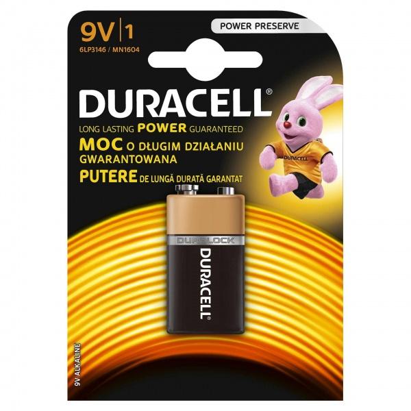 Baterie Bassic 9V Duracell 32002529