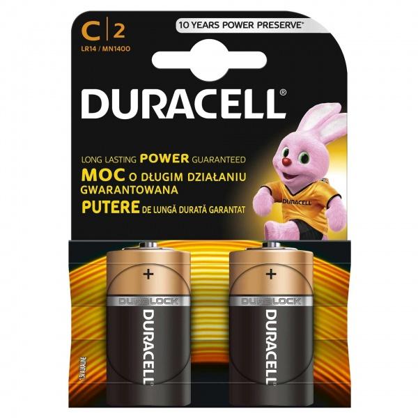 Set X 2 Baterii C LR14 Duracell 32009538