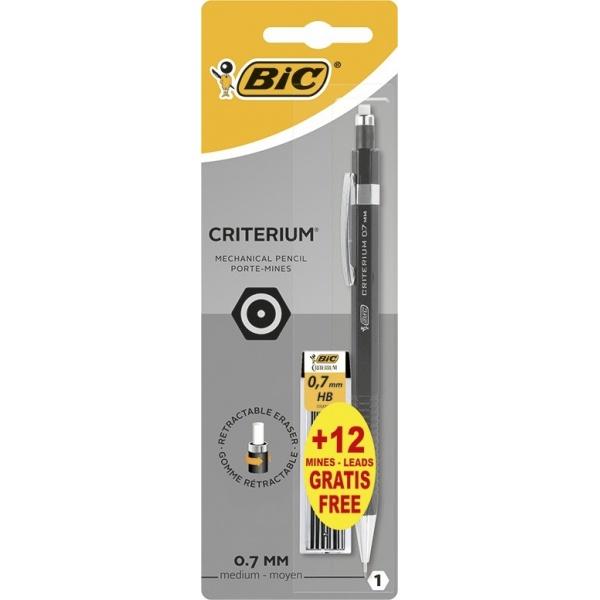 Bic Creion Mecanic Criterium 0.7mm + 12 Mine 0.7 mm 32517471