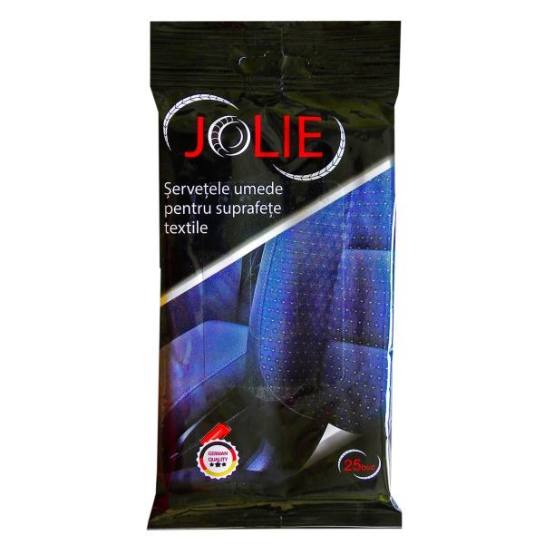 Jolie Servețele Umede Pentru Suprafețe Textile 020148