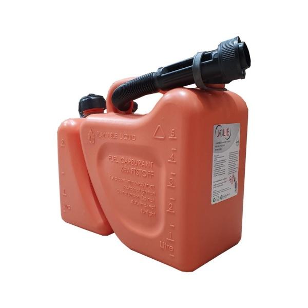 Jolie Canistră Dublă Pentru Produse Petroliere 5+2L 11