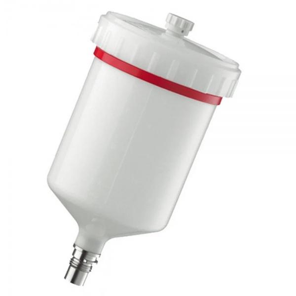 Pahar Plastic Reutilizabil Pentru Pistol De Vopsit Sata QCC 600ML 27243