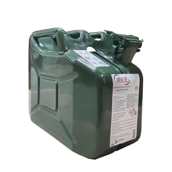 Jolie Canistră Pentru Produse Petroliere Din Metal 10L 434610