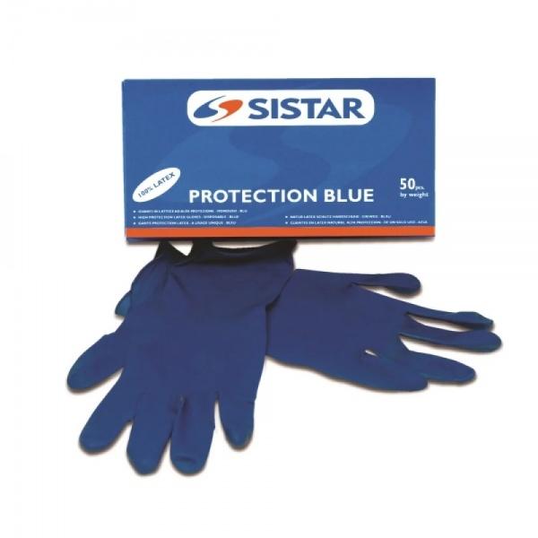 Sistar Protection Blue Manusi Latex 7067