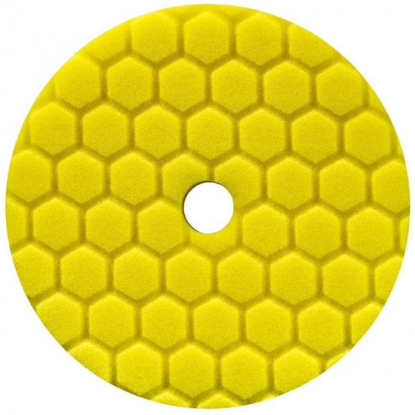 Chemical Guys Hex Logic Quantum Heavy Cutting Pad Yellow 55 Burete Putere Mare De Taiere BUFX111HEX6