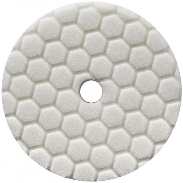 Chemical Guys Hex Logic Quantum Light Medium Polishing Pad White 55 Inch Burete Polish Putere Taiere Usoara Spre Medie BUFX114HEX5