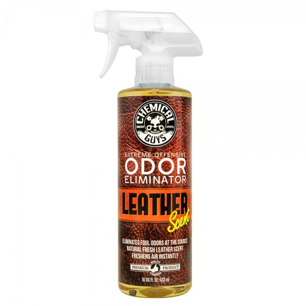 Chemical Guys Extreme Offensive Odor Eliminator Leather Scent Odorizant Si Eliminator De Mirosuri 473ML SPI22116