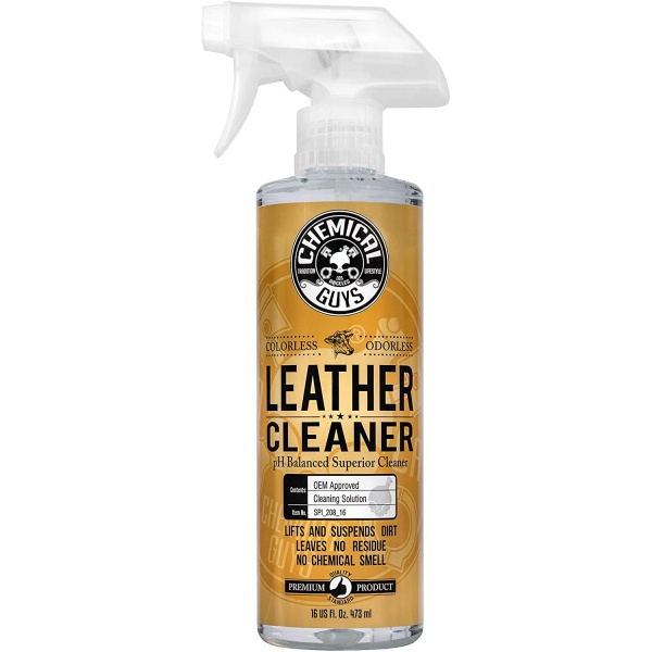 Chemical Guys Leather Cleaner Curatator Piele SPI_208_16