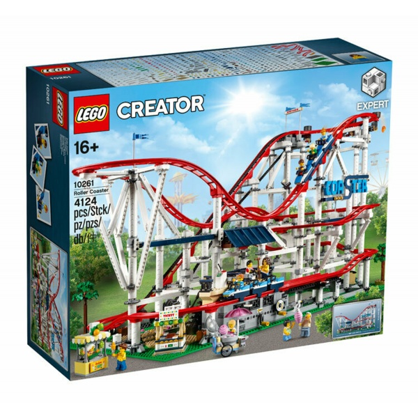 Lego Creator Expert Roller Coaster 16 Ani+ 4124 Piese 10261