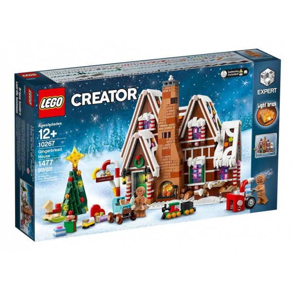 Lego Creator Expert Gingerbread House 12 Ani+ 1477 Piese 10267