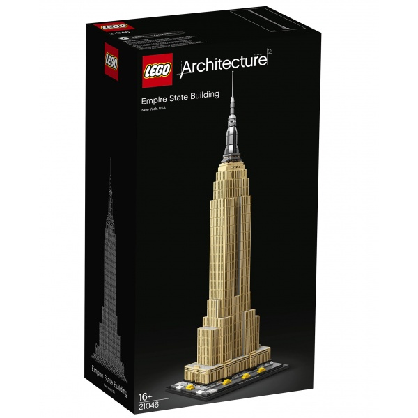 Lego Architecture Empire State Building 16 Ani+ 1767 Piese 21046