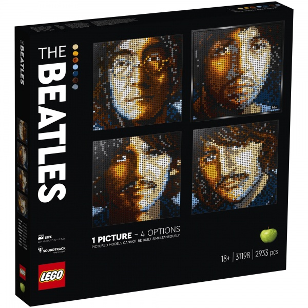 Lego Art The Beatles 18 Ani+ 2933 Piese 31198