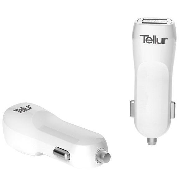 Tellur Incarcator Auto Dual USB 3.1A 42504346
