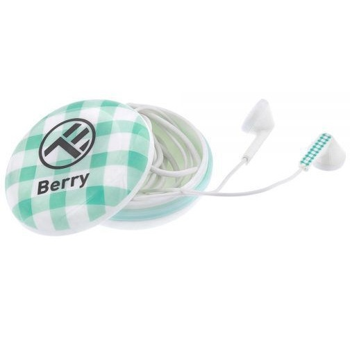 Tellur Casti In-Ear Berry Cu Fir 1.2M Jack 3.5MM Albastru 42506311