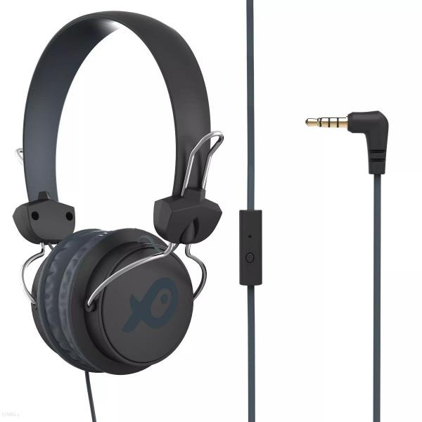 Poss Casti Over Head Cu Microfon Negru PSH996WH