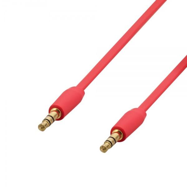 Poss Cablu Audio Jack M/M 1.2M 2.5MM Rosu PSJAC120RD