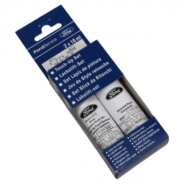 Set Corector Vopsea + Lac Oe Ford Alb Weiss Cashmere Metalizat 8NJE5ZA 18ML 1771555