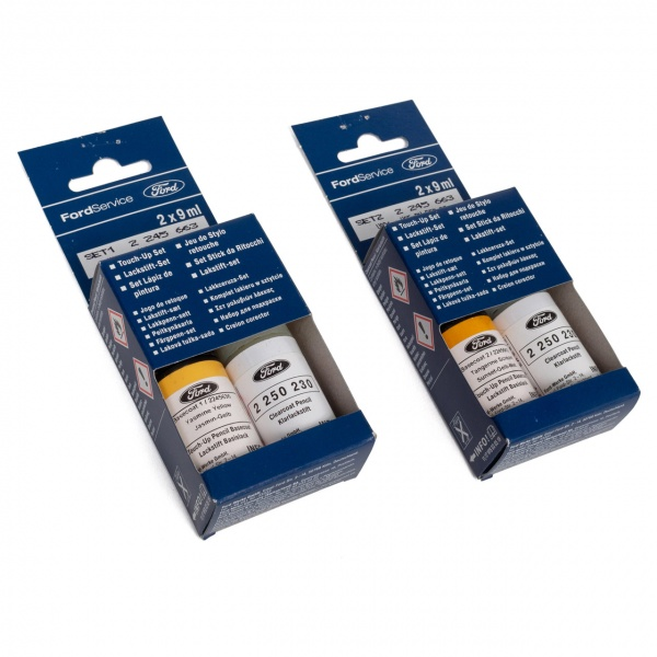 Set 2 Buc Corector Vopsea + Lac Oe Ford Galben Sunset Jasmin Metalizat CEREWWA 9ML 2245663